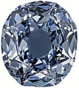 Wittelsbach diamond before being recut